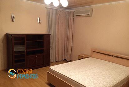 Капремонт спальни в 3-х комнатной квартире 57 кв.м.
