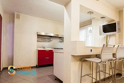 Ремонт в кухни-столовой в трехкомнатной квартире 63 м2, фото-1