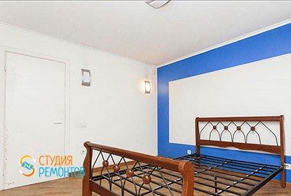 Ремонт в спальне в трехкомнатной квартире 63 м2
