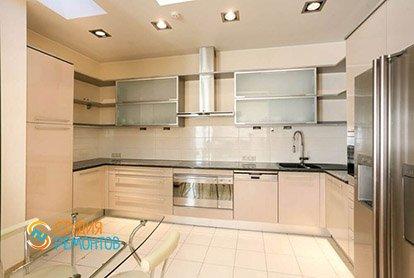 Капитальный ремонт кухни в 4-х комнатной квартире 77 кв.м.