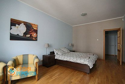 Ремонт спальни в 4-х комнатной квартире 84 кв.м.