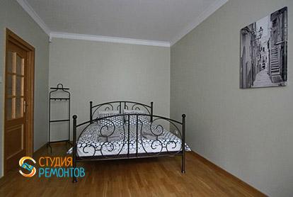 Ремонт спальной комнаты в 4-х комнатной квартире 84 кв.м.