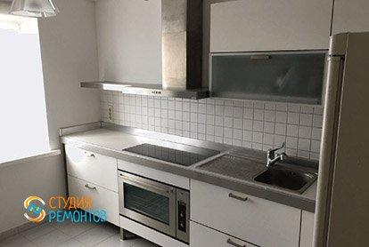 Капитальный ремонт кухни в 5-комнатной квартире 86 кв.м.