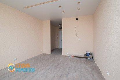 Капитальный ремонт комнаты в студии 26 кв.м., фото-2