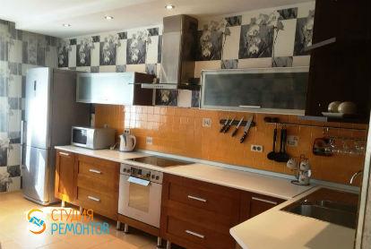 Капитальный ремонт кухни в двухкомнатной новостройке 49 кв.м.