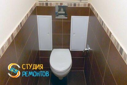 Капитальный ремонт туалета 3,5 м2