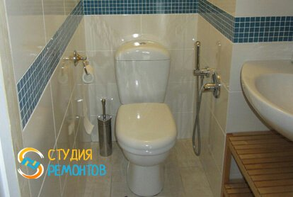Капитальный ремонт туалета 4 м2