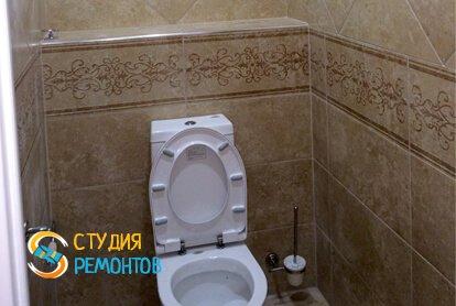Капитальный ремонт туалетной комнаты 3 кв.м.