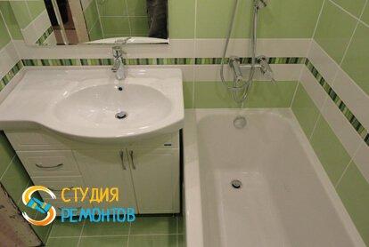 Капитальный ремонт ванной 3,75 кв.м.