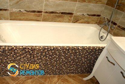 Капитальный ремонт ванной 3 м2