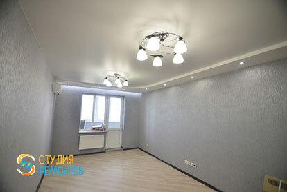 Косметический ремонт комнаты в однокомнатной квартире 35,5 кв.м.