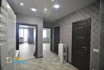 Косметический ремонт коридора в однокомнатной квартире 35,5 кв.м.