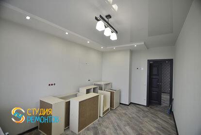 Косметический ремонт кухни в однокомнатной квартире 35,5 кв.м.