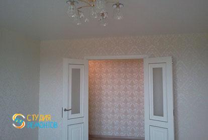 Косметический ремонт гостиной в двухкомнатной квартире 55,1 м2