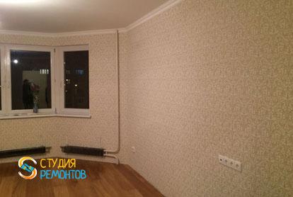 Косметический ремонт гостиной в двухкомнатной квартире 55,1 кв.м.