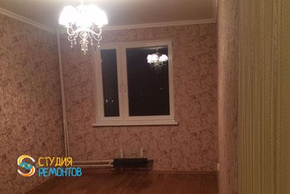Косметический ремонт комнаты в двухкомнатной квартире 55,1 кв.м.