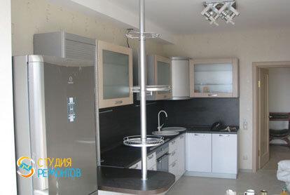 Косметический ремонт кухни в 2-х комнатной квартире 55,1 м2