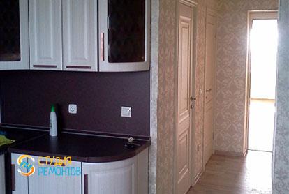 Косметический ремонт кухни в двухкомнатной квартире 55,1 м2 фото 1