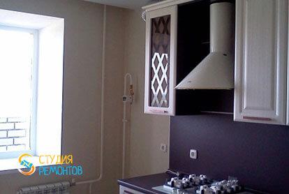 Косметический ремонт кухни в двухкомнатной квартире 55,1 м2 фото 2