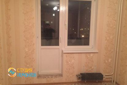 Косметический ремонт кухни в двухкомнатной квартире 55,1 кв.м. фото-1