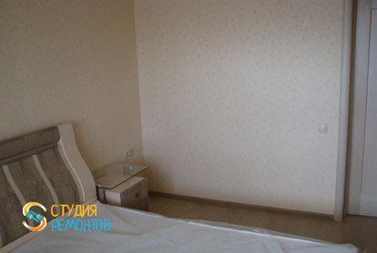 Косметический ремонт спальни в 2-х комнатной квартире 55,1 м2