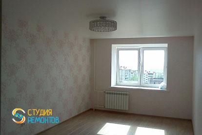 Косметический ремонт спальни в двухкомнатной квартире 55,1 м2