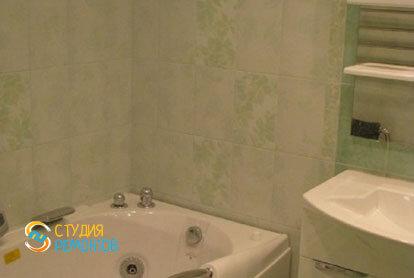 Косметический ремонт ванной в 2-х комнатной квартире 55,1 м2 фото 1