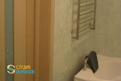 Косметический ремонт ванной в 2-х комнатной квартире 55,1 м2 фото 2