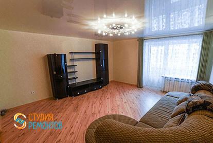 Косметический ремонт гостиной в 3-х комнатной квартире 66 м2