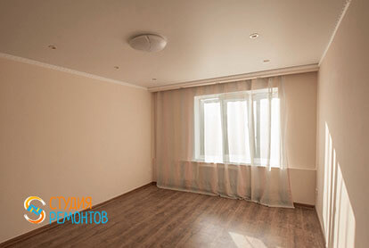 Косметический ремонт комнаты в трехкомнатной квартире 66 кв.м.