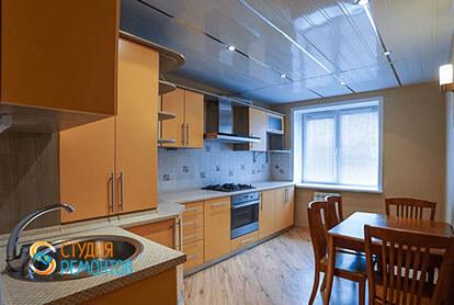 Косметический ремонт кухни в 3-х комнатной квартире 66 м2