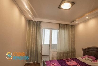 Косметический ремонт спальни в трехкомнатной квартире 66 кв.м.