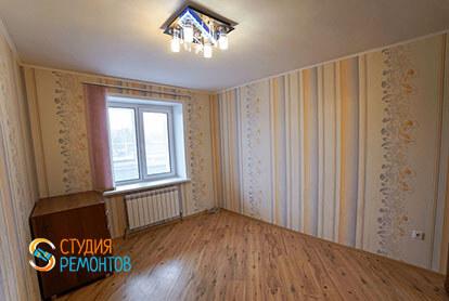 Косметический ремонт жилой комнаты в 3-х комнатной квартире 66 м2