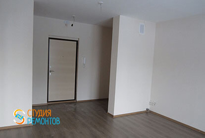Ремонт кухни-комнаты в трехкомнатной квартире 54 кв.м., фото-1