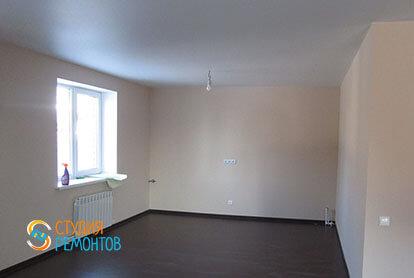 Ремонт жилой комнаты в трехкомнатной квартире 54 кв.м.