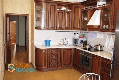 Косметический ремонт кухни в 4-х комнатной квартире 80 кв.м.