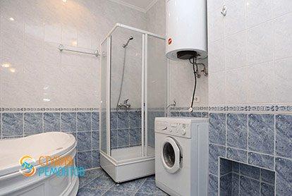 Косметический ремонт санузла в 4-х комнатной квартире 80 кв.м.