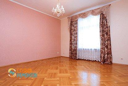 Косметический ремонт спальни в 4-х комнатной квартире 80 кв.м.