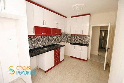 Ремонт кухни в четырехкомнатной квартире 81 кв.м.