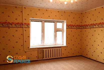 Косметический ремонт детской комнаты в пятикомнатной квартире 94 кв.м.