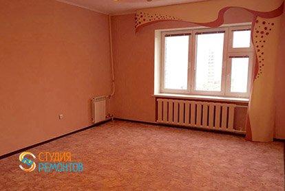 Косметический ремонт комнаты в пятикомнатной квартире 94 кв.м.
