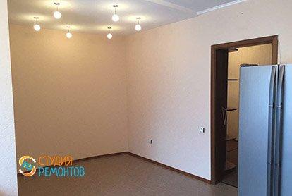 Косметический ремонт кухни с залом в пятикомнатной квартире 94 кв.м., фото-2