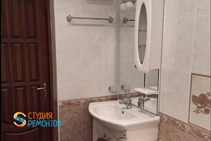 Косметический ремонт санузла в пятикомнатной квартире 94 кв.м. фото-2