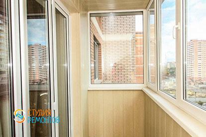 Косметический ремонт балкона 2,5 кв.м.