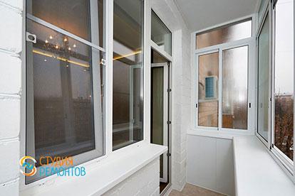 Косметический ремонт балкона 3,5 кв.м.