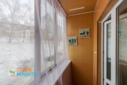 Косметический ремонт балкона 3 кв.м.