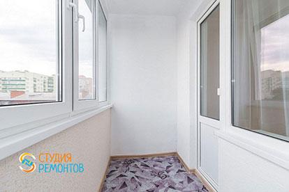 Косметический ремонт балкона 4 кв.м.