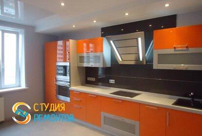 Косметический ремонт кухни 16 кв.м.