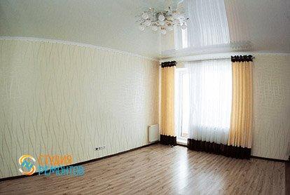 Косметический ремонт жилой зоны в квартире-студии 31 м2, фото-1