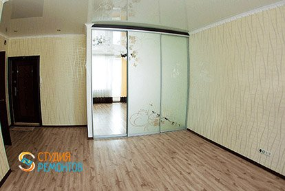 Косметический ремонт жилой зоны в квартире-студии 31 м2, фото-2